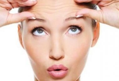 getting rid of wrinkles forehead